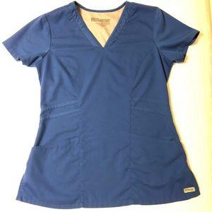 Grey's Anatomy Scrub top Size Small